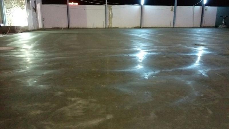 Industrial floor At Al MAABELA